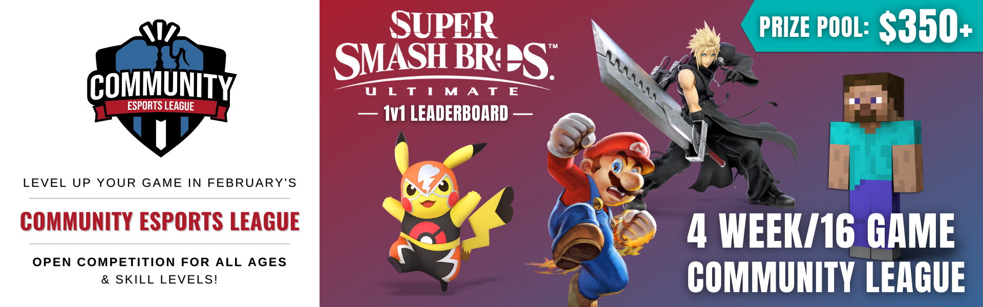Super Smash Bros. Ultimate: February 21