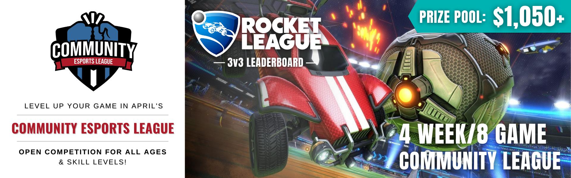 April CEL: Featuring Rocket League