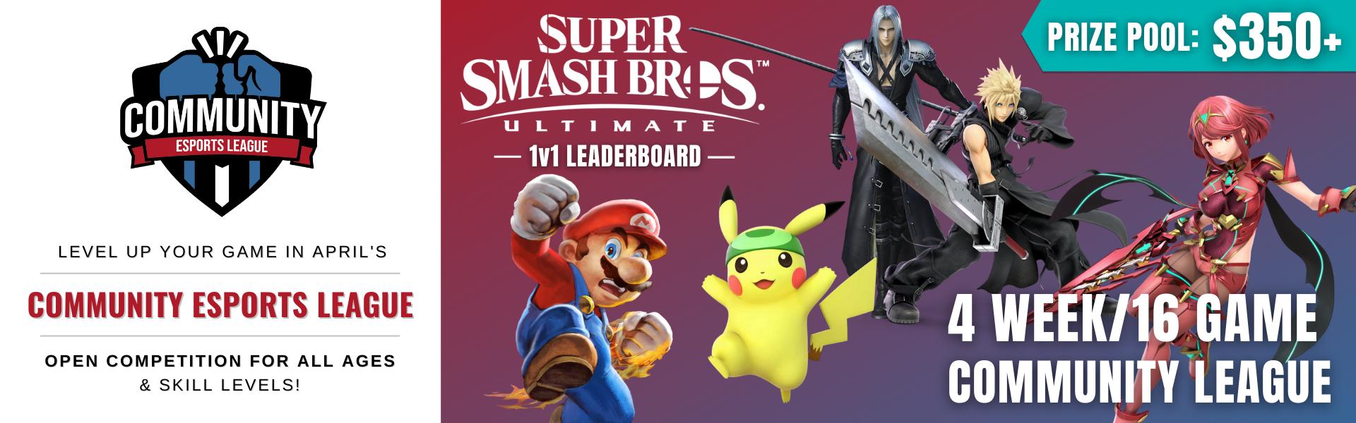 April CEL: Featuring Super Smash Bros. Ultimate