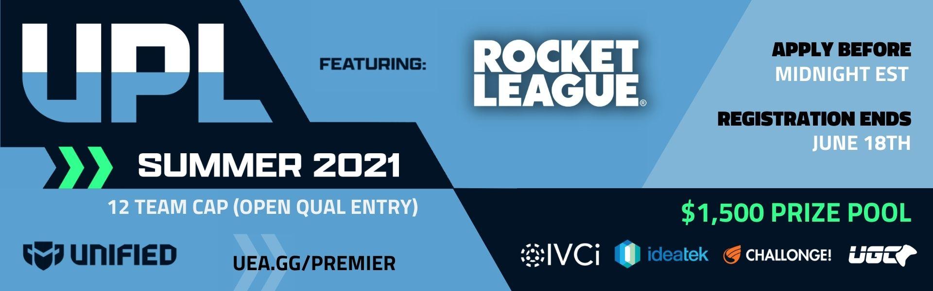 Upsurge Premier League - Rocket League - Summer 2021