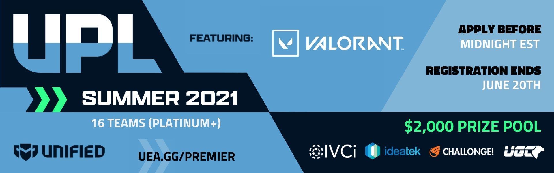 Upsurge Premier League - Valorant - Summer 2021