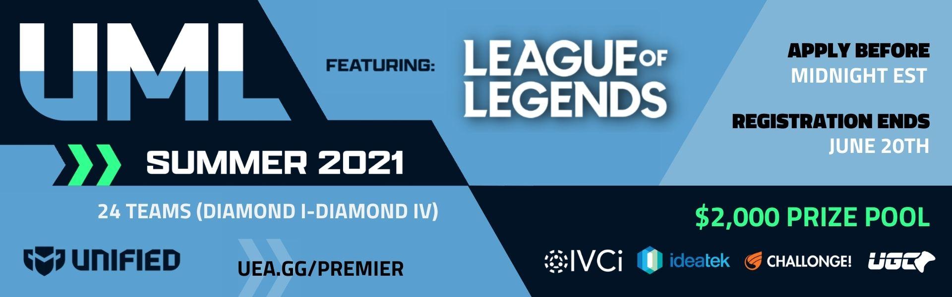 Upsurge Minor League - League of Legends - Summer 2021