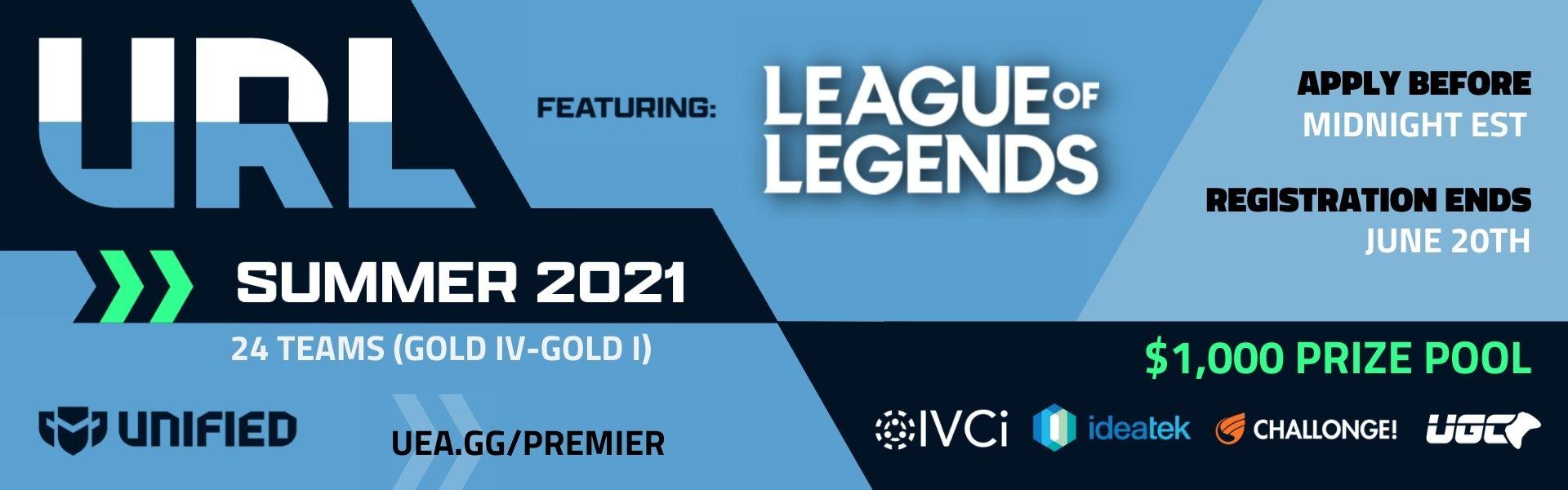 Upsurge Rookie League - League of Legends - Summer 2021