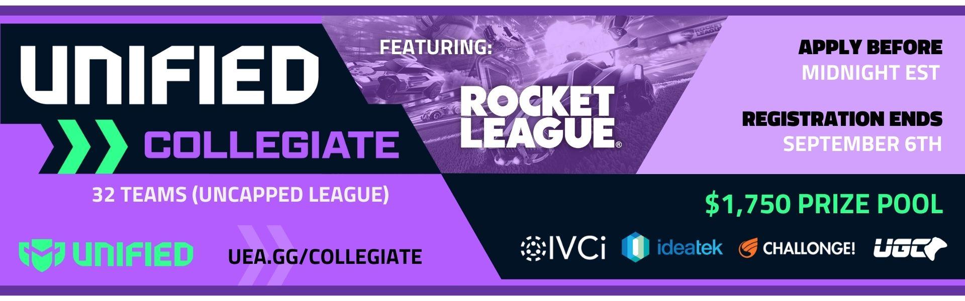 UCEA Rocket League Fall Season 2021 - Tier 1