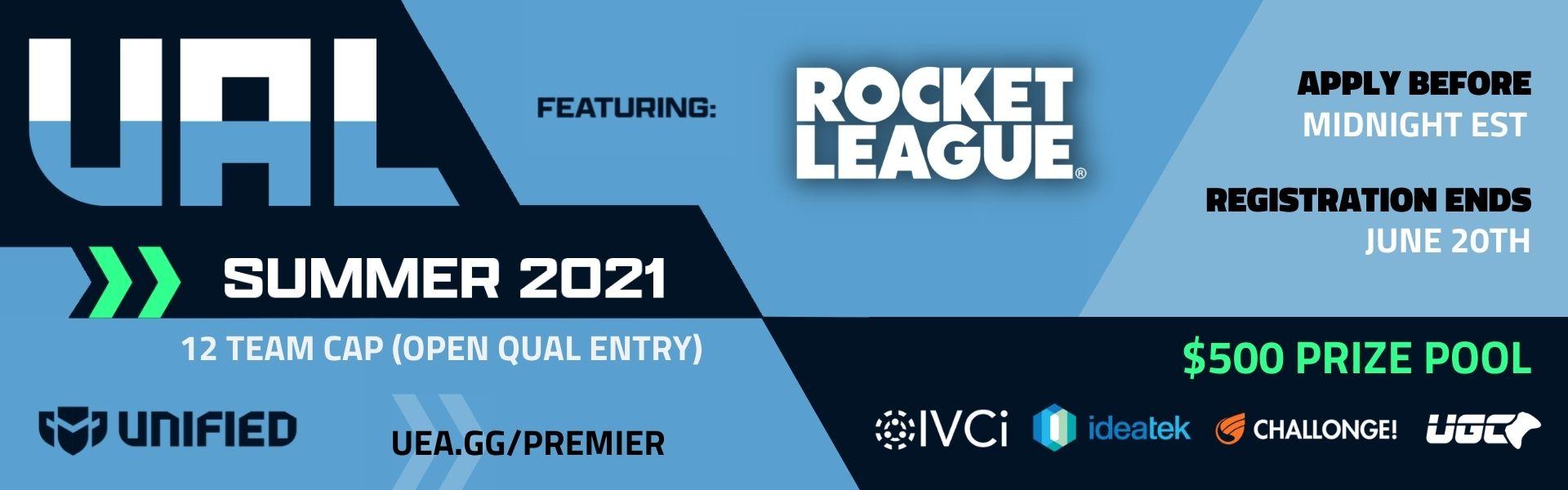 Upsurge Advanced League - Rocket League - Summer 2021