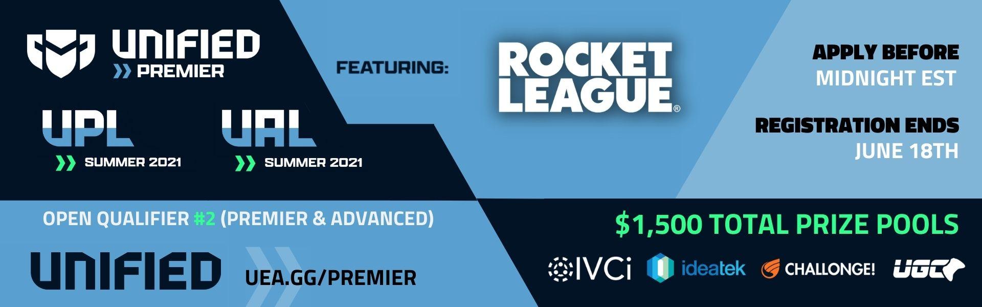 Unified Rocket League Open Qualifier #2