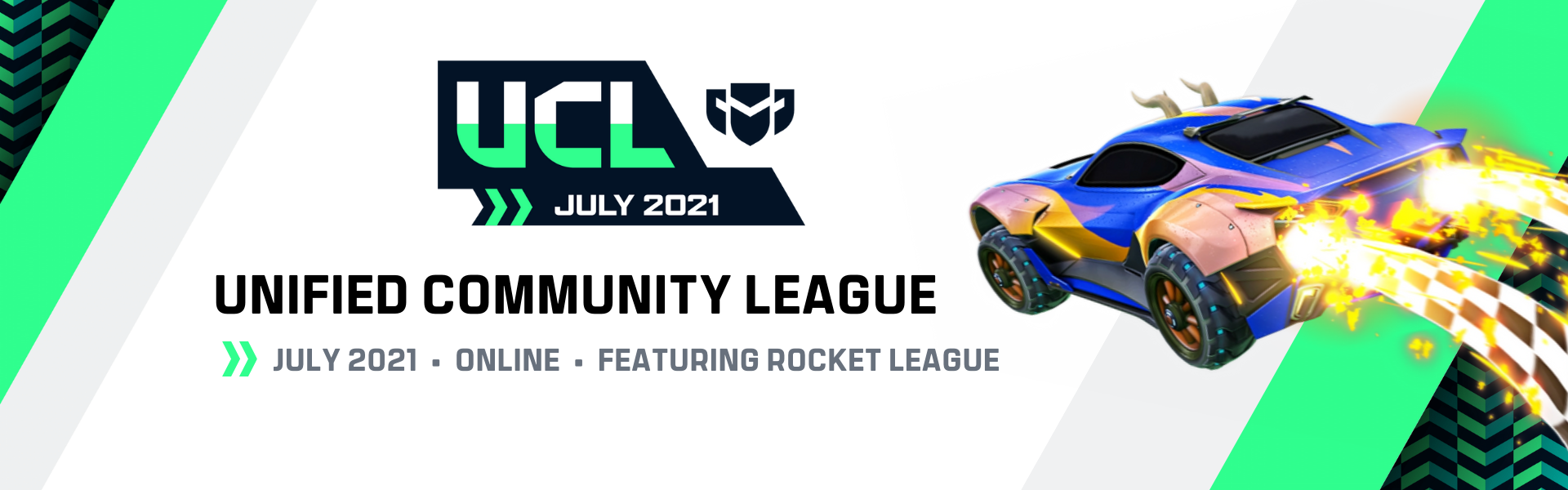July UCL: Featuring Rocket League