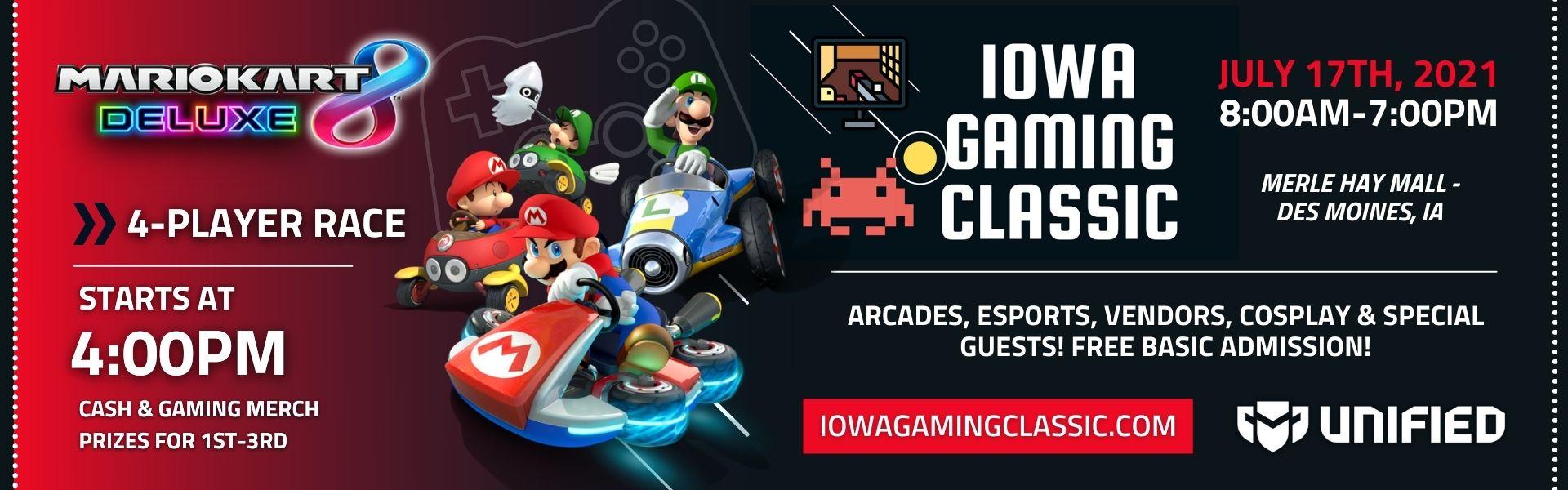 IGC: Featuring Mario Kart