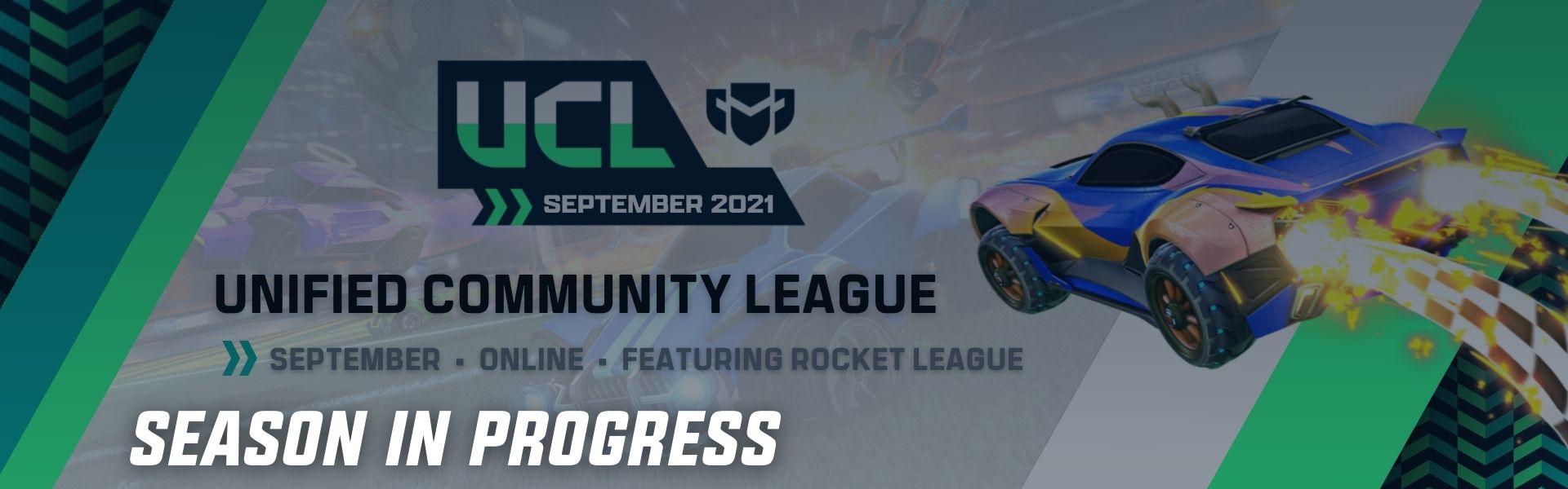 September UCL: Featuring Rocket League