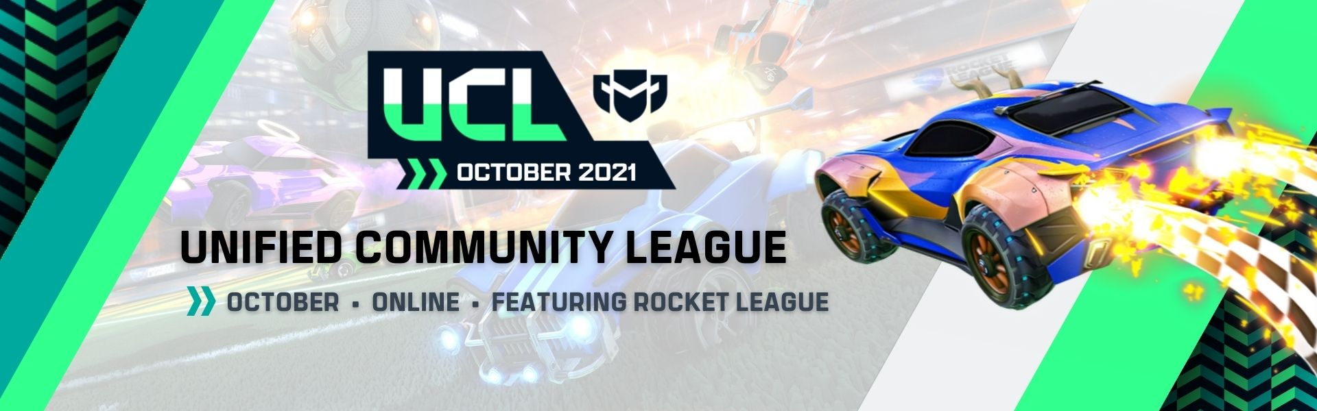 October UCL: Featuring Rocket League