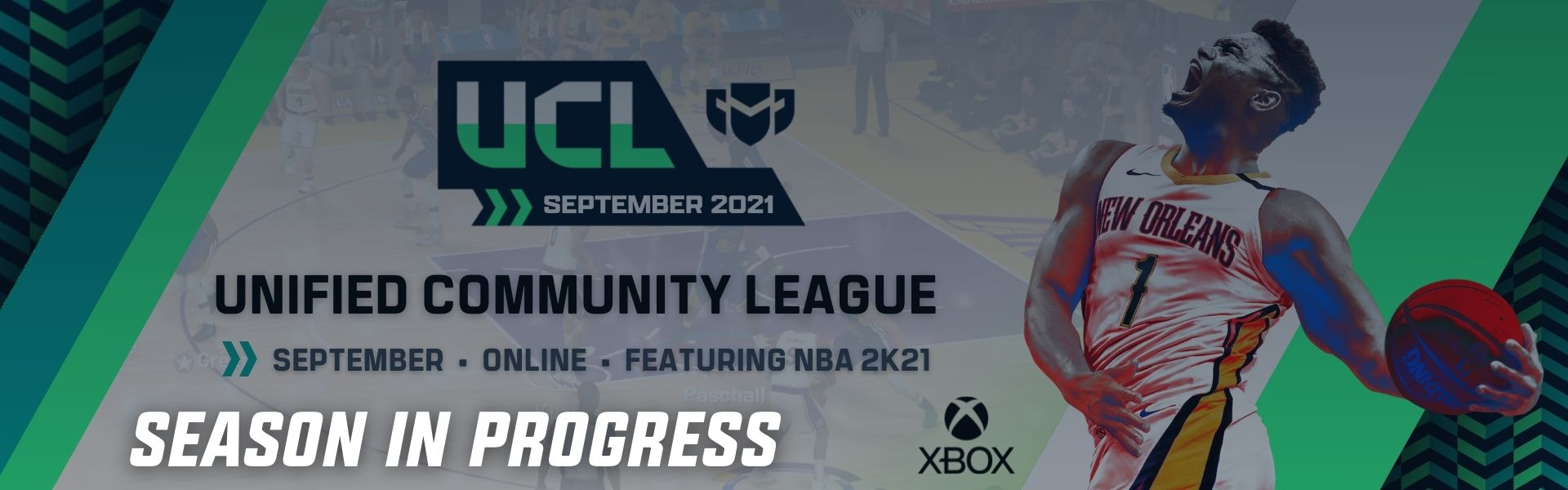 September UCL: Featuring NBA2K21 – Xbox One