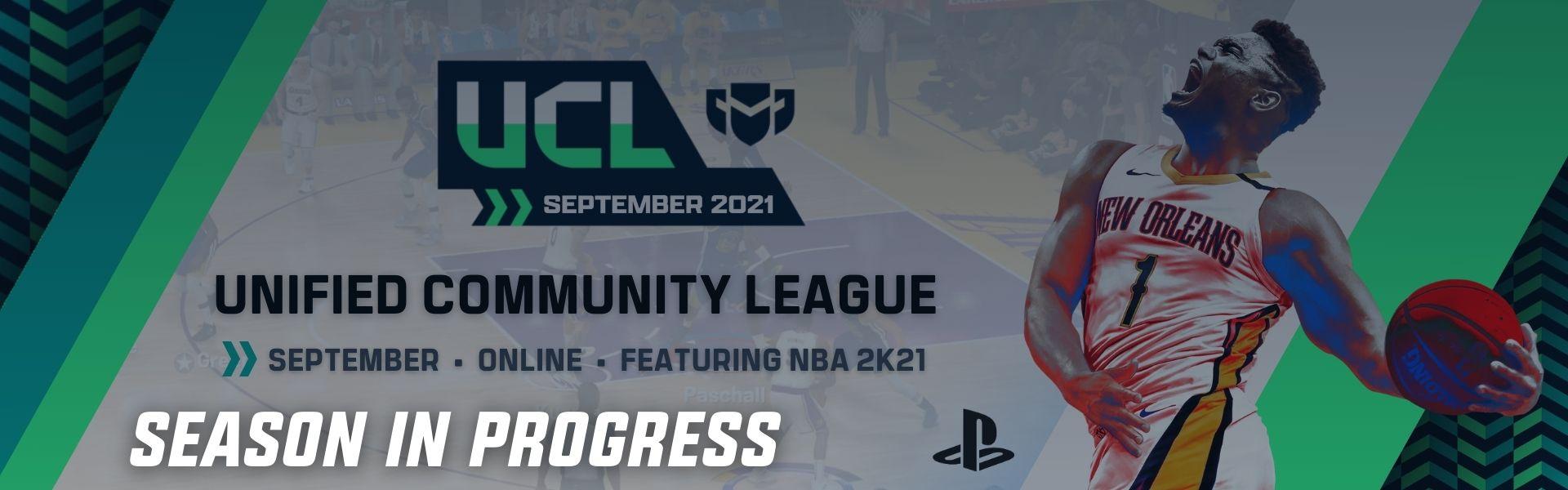 September UCL: Featuring NBA2K21 – PS4