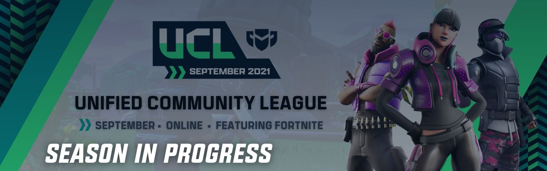 September UCL: Featuring Fortnite