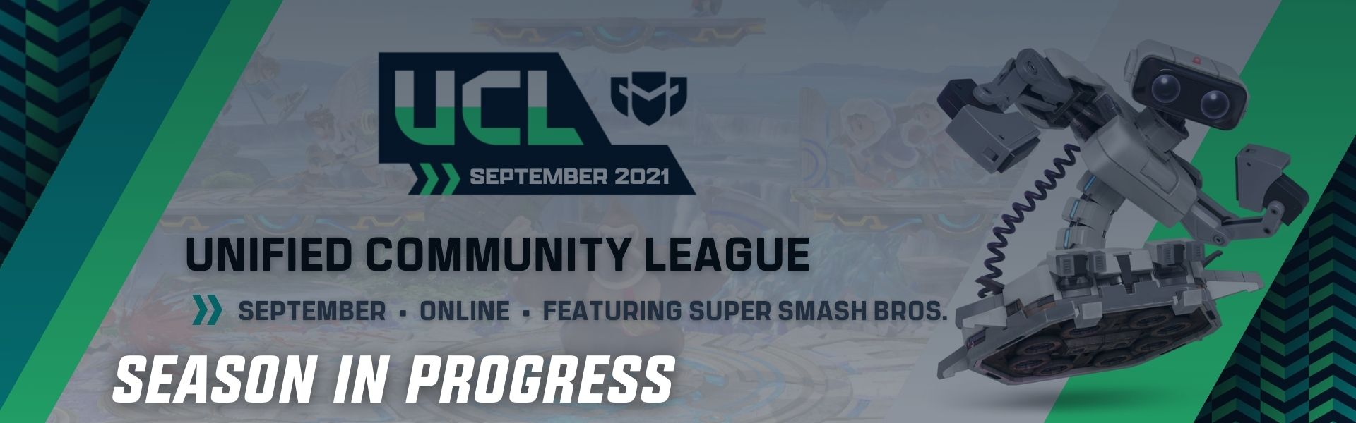 September UCL: Featuring Super Smash Bros. Ultimate