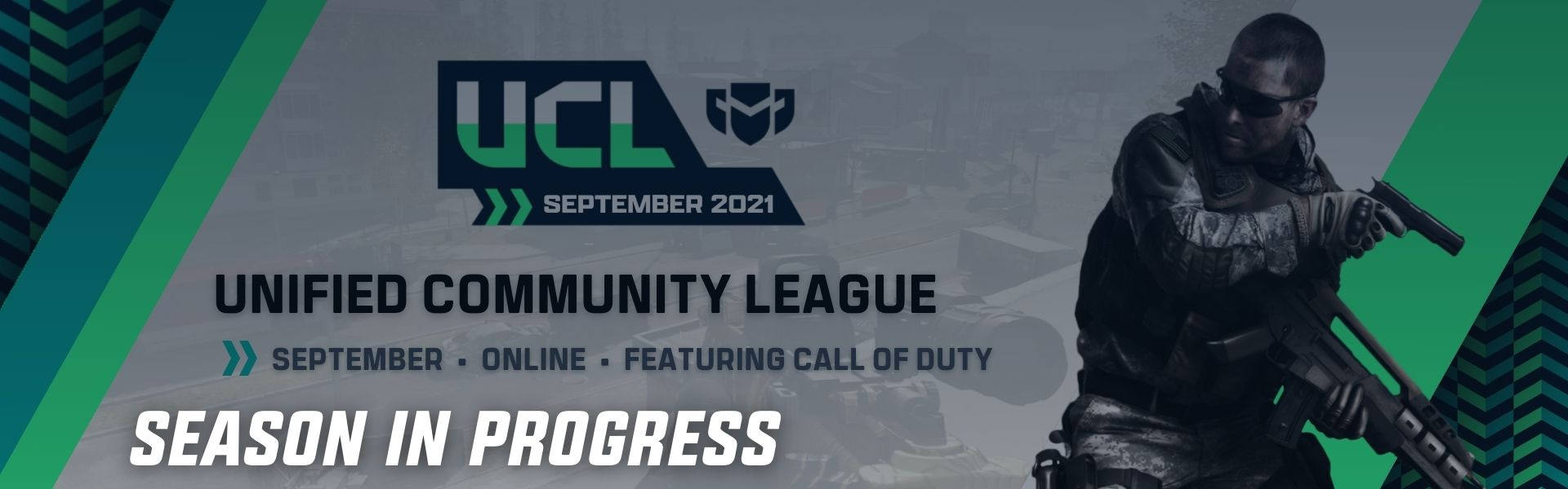 September UCL: Featuring Call of Duty Warzone