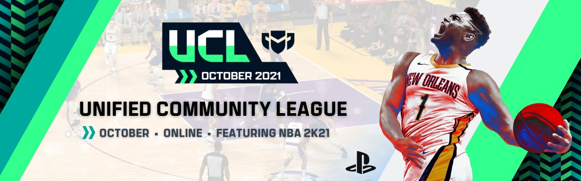 October UCL: Featuring NBA2K21 – PS4