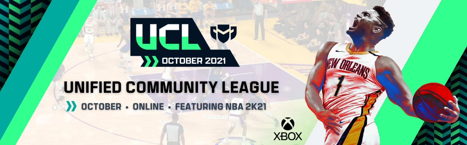 October UCL: Featuring NBA2K21 – Xbox One
