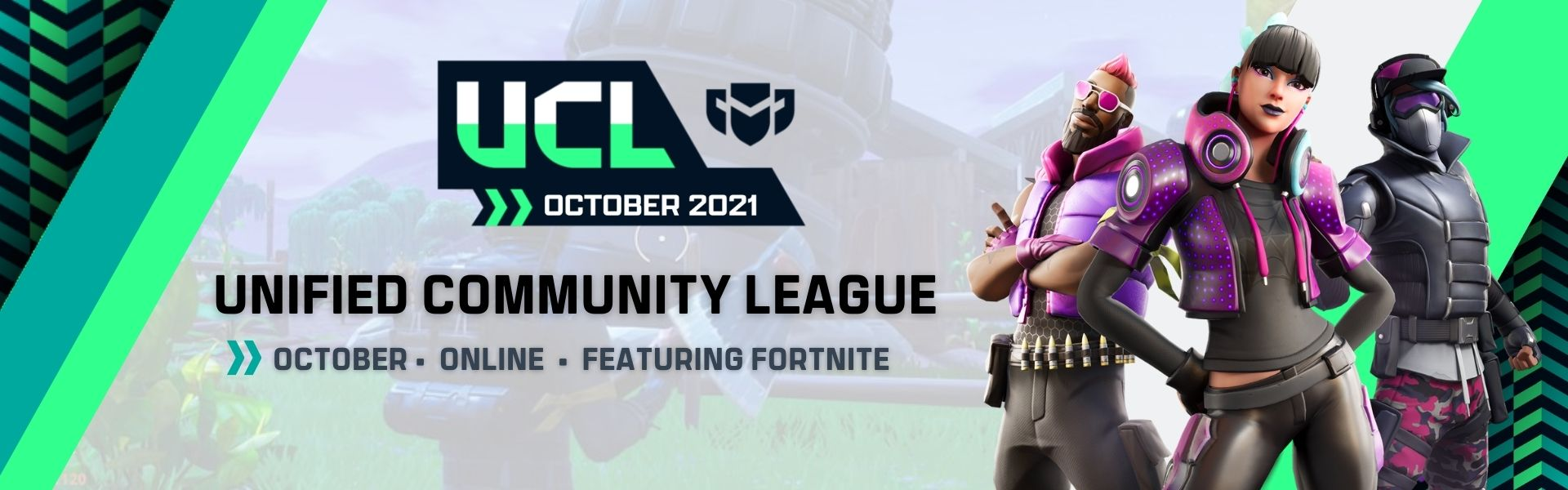 October UCL: Featuring Fortnite