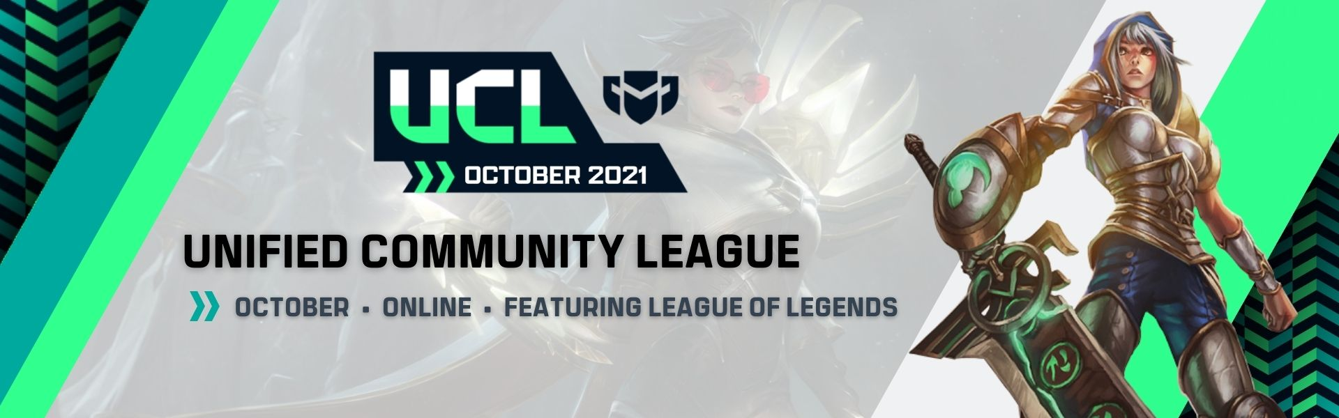 October UCL: Featuring League of Legends