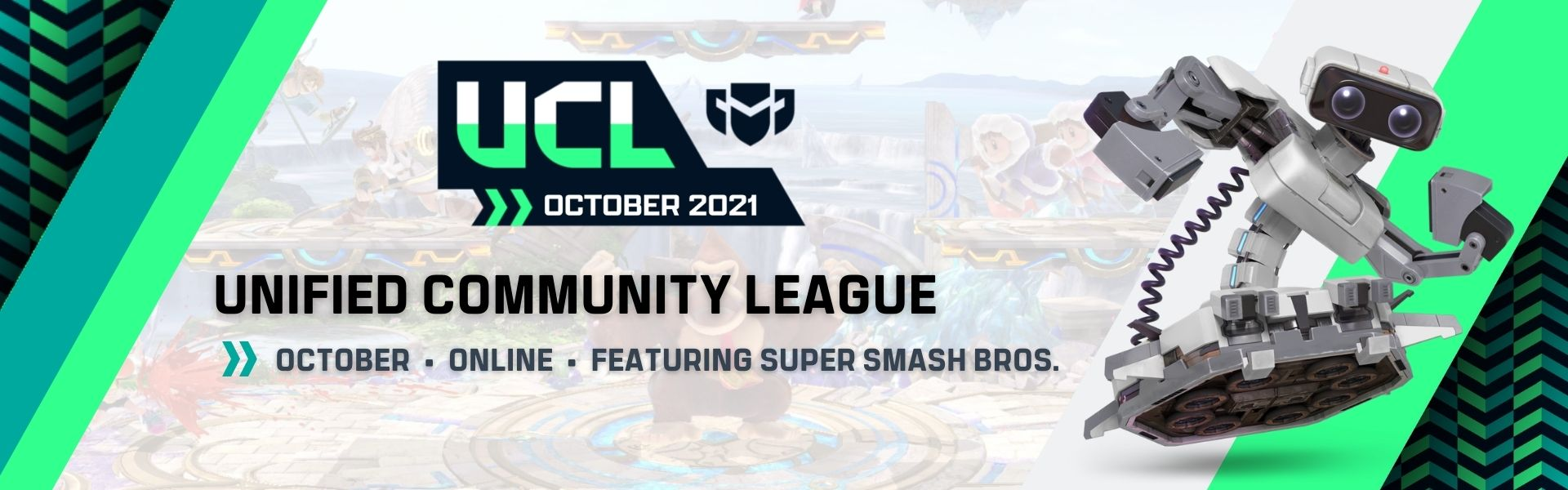 October UCL: Featuring Super Smash Bros. Ultimate