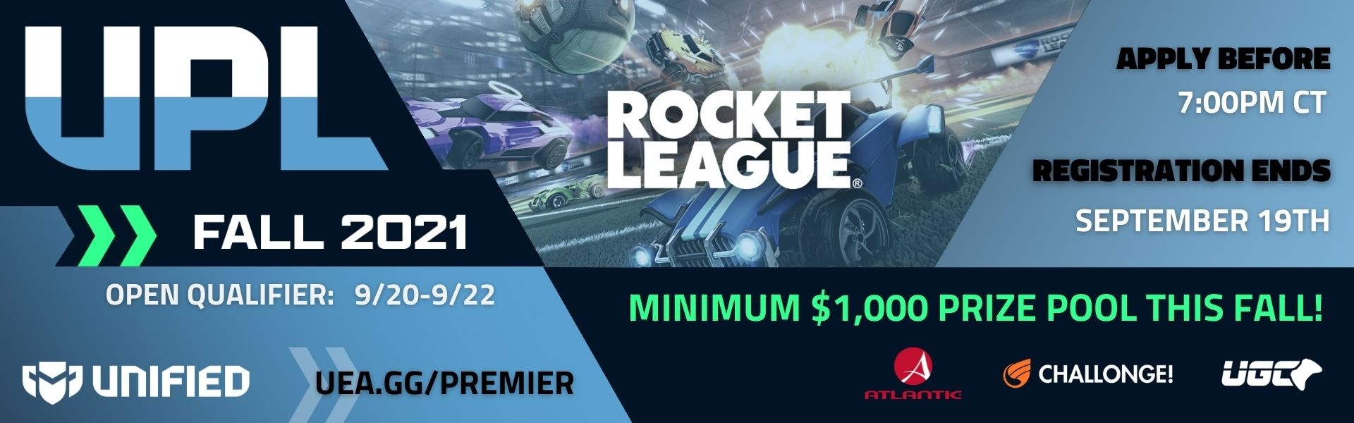 Unified Premier League - Rocket League - Fall 2021
