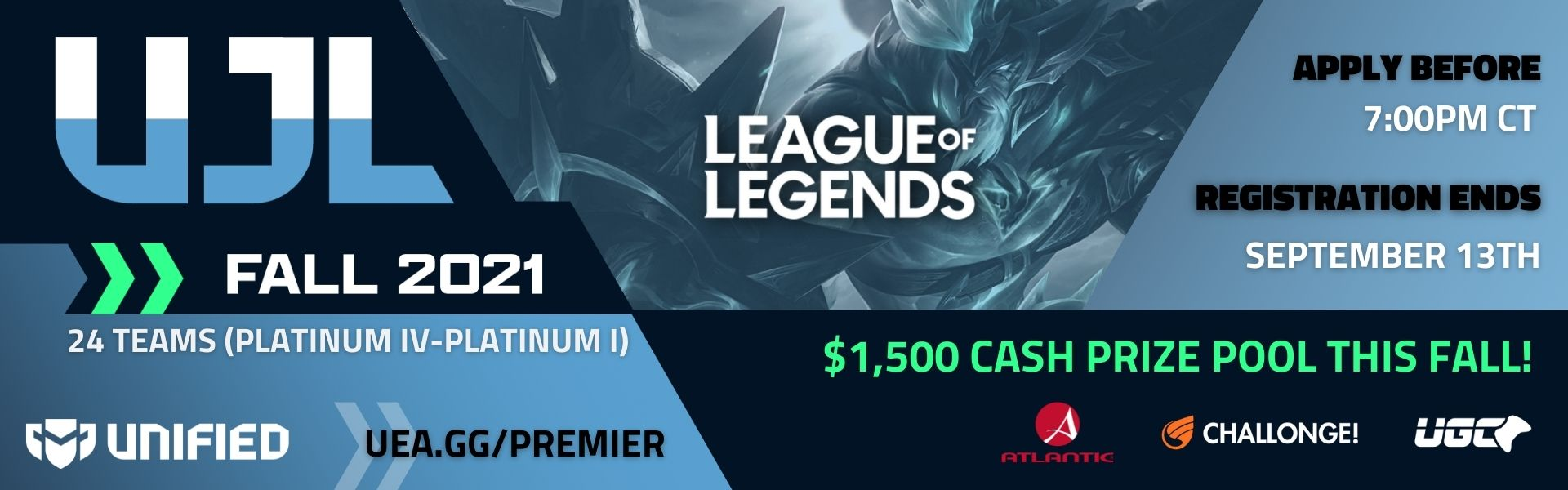 Unified Junior League - League of Legends - Fall 2021