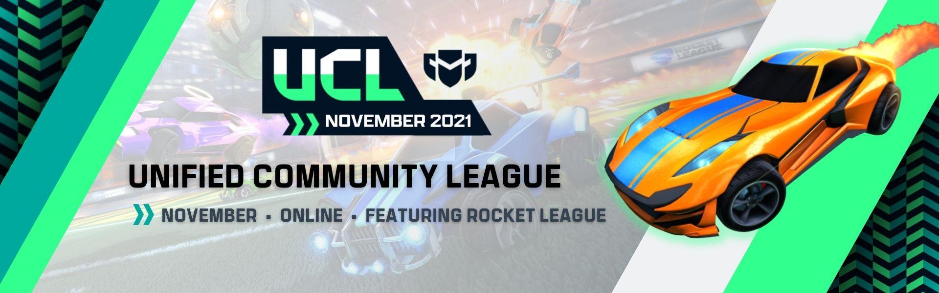 November UCL: Featuring Rocket League
