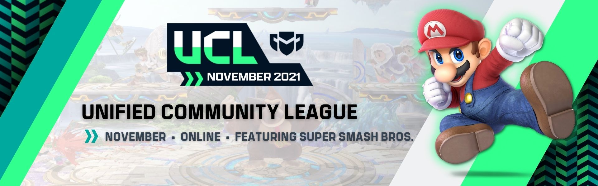 November UCL: Featuring Super Smash Bros. Ultimate
